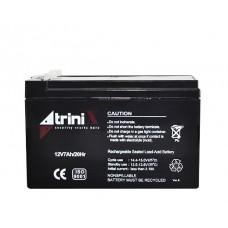 Акумуляторна батарея Trinix АКБ 12V 7Ah