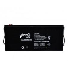 Акумуляторна батарея гелева Trinix АКБ 12V 200Ah