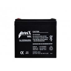 Акумуляторна батарея гелева Trinix АКБ 12V 55Ah
