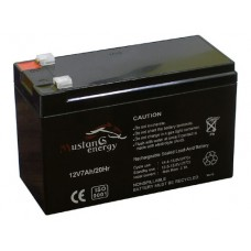 Акумуляторна батарея Mustang energy АКБ 12V 7Ah