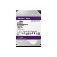 Жорсткий диск Western Digital Purple 12TB WD121PURZ для відеоспостереження