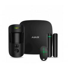 Комплект сигналізації Ajax StarterKit Cam Black