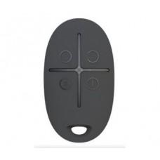 Брелок управління з тривожною кнопкою Ajax SpaceControl Black