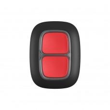 Бездротова тривожна кнопка Ajax DoubleButton Black