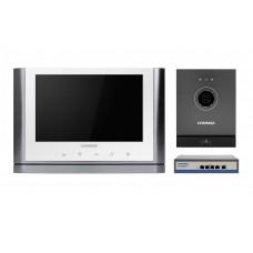 Комплект відеодомофону CIOT-1020M + Commax CIOT-D20M (A) c ком.на 4 порти