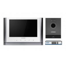Комплект відеодомофону CIOT-1020M + Commax CIOT-D20M (A) c ком.на 8 портів