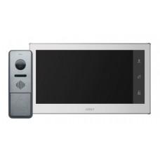 Комплект відеодомофону Arny AVD-7430 IPS Білий \ Графітовий