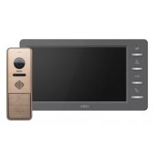Комплект відеодомофону Arny AVD-7942 1MPX IPS Bronze
