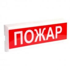 """Оповіщувач світло-звуковий Tiras ОСЗ-13 """"Пожар"""" (12V)"""